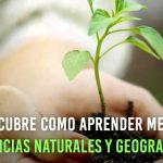 Software libre para el aprendizaje ciencias naturales y geografía