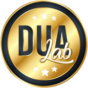 Sello DUA Lab Dorado