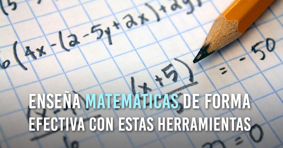 Software Libre Para El Aprendizaje De Matemáticas