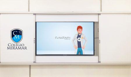 Implementación Classtouch Colegio Miramar de Arica