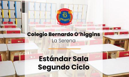 Implementación Estándar Sala Segundo Ciclo Colegio Bernardo O'higgins – La Serena