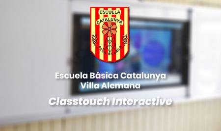 Implementación Classtouch Interactive Escuela Básica Catalunya – Villa Alemana