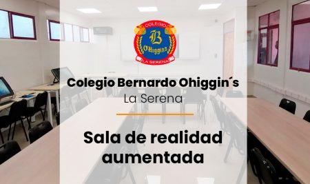 Nueva implementación de sala de realidad aumentada en Colegio Bernardo Ohiggin´s de la Serena