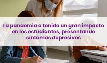 La llegada de la pandemia a Chile gatillo un aumento en síntomas de depresivos en los niños