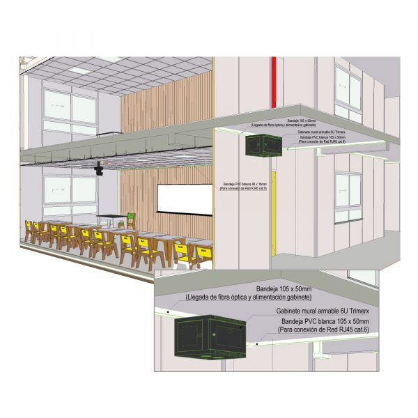 Sistema de red para centro educativos