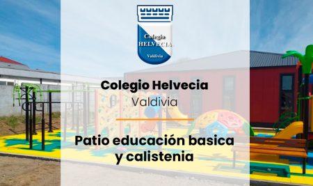 Implementación Patio educación básica y calistenia